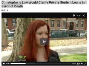 NJTV Student Loan Interview